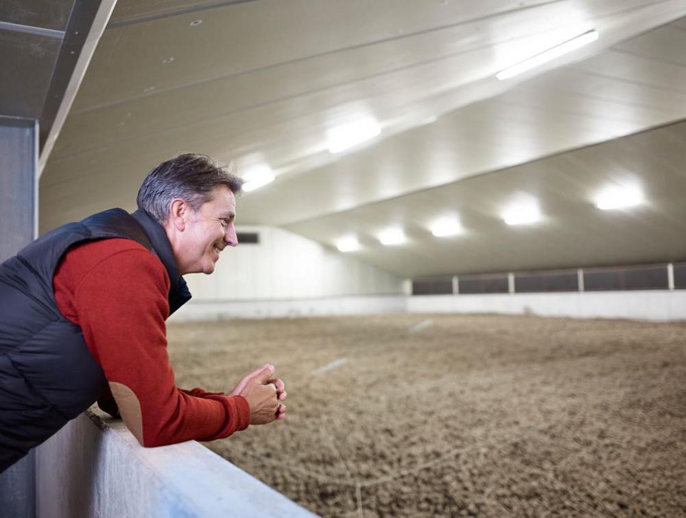 Eurothane AL agrarische isolatieplaat in aardappel loods