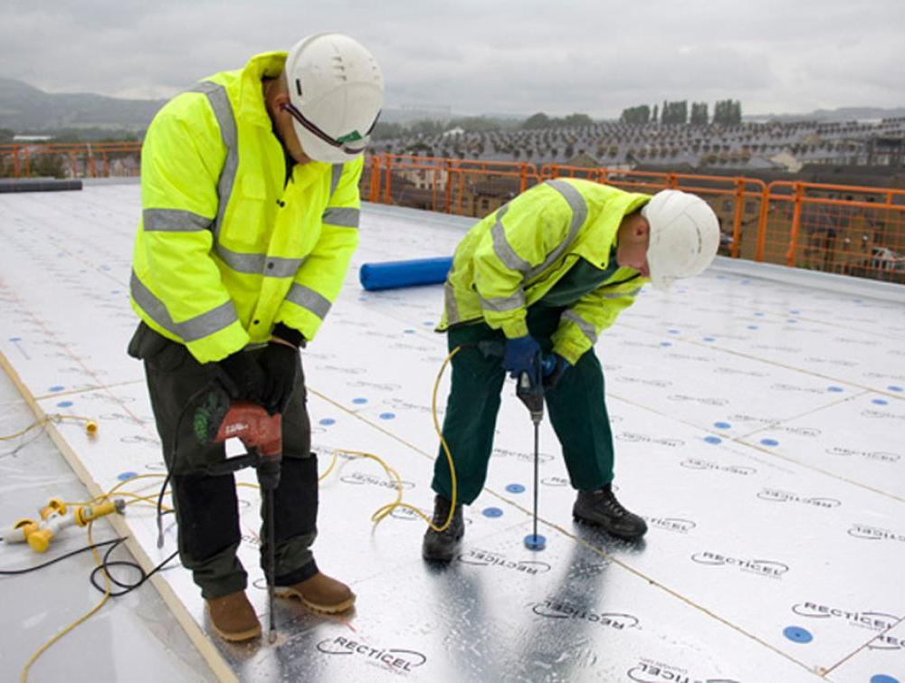 Recticel Insulation's Eurothane Eurodeck insulation application image