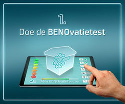 Benovatietest stap 1