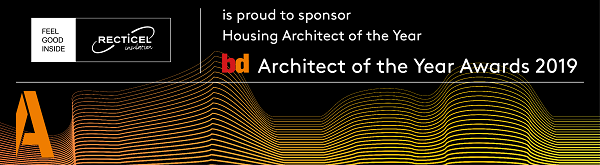Recticel Insulation is proud to announce its sponsorship of the 2019 BD Architect of the Year Awards.