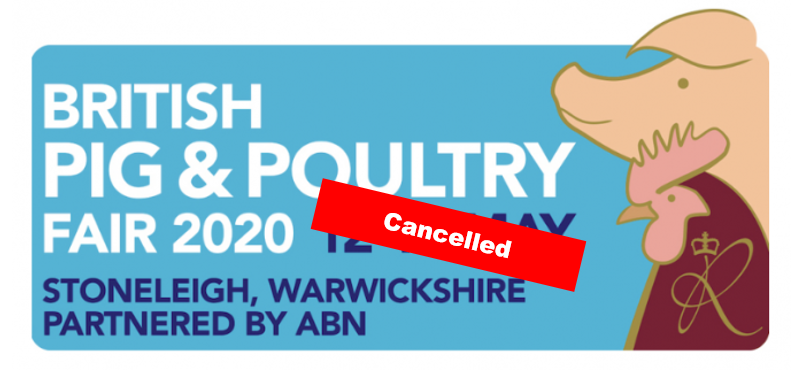 pig & poultry cancelled