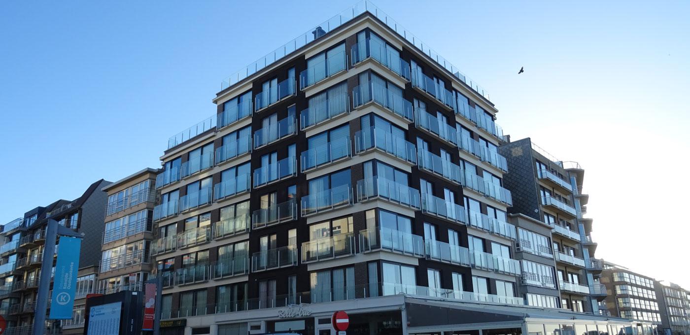 Deck-VQ<sup>®</sup> Vacuum Insulation Panel project in Sint-Idesbald, Belgium