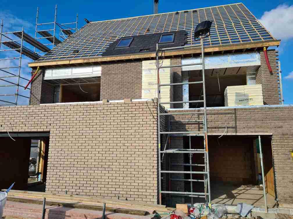 Nieuwbouwappartementen te Wichelen met Recticel Insulation isolatie