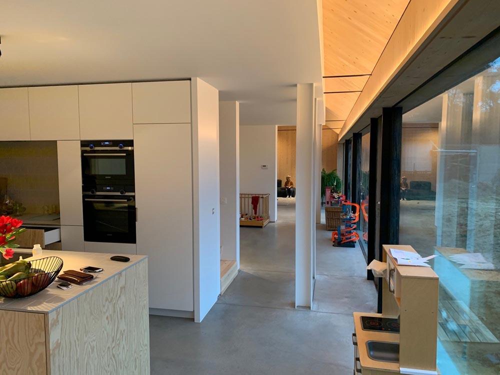 Woning 'Van Vlerken' te Meerhout geïsoleerd met Eurofloor vloerisolatie