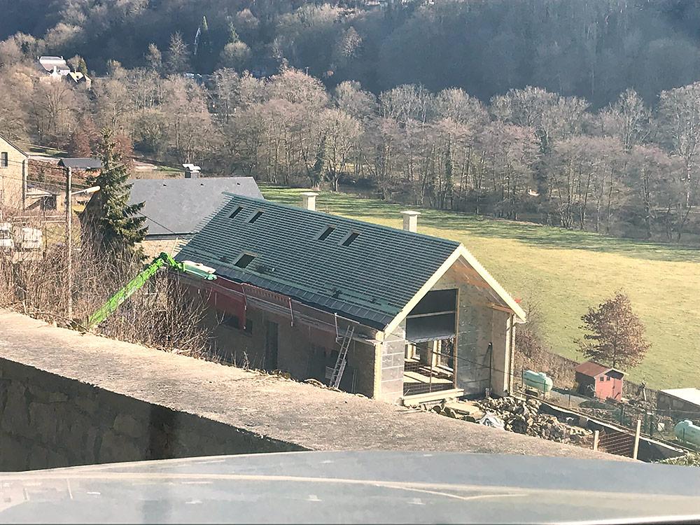 Dubbele vakantiewoning te Durbuy geïsoleerd met Recticel Insulation L-Ments en Eurowall isolatie