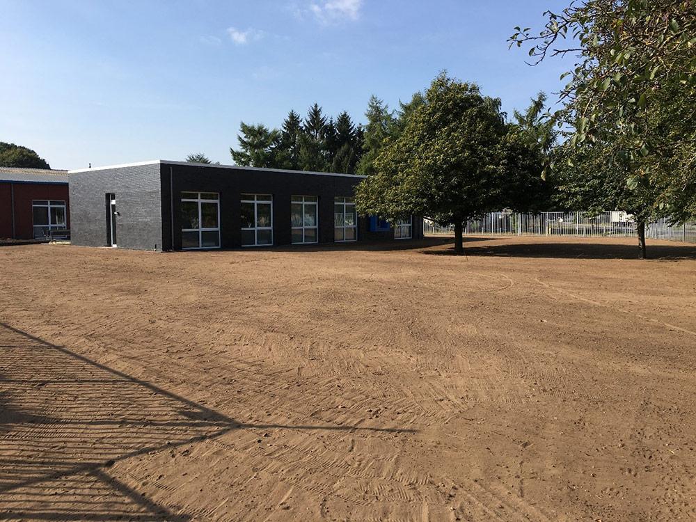 Eerste massief-passieve kantoorpand staat in Milsbeek en werd geïsoleerd met Recticel Eurowall isolatie