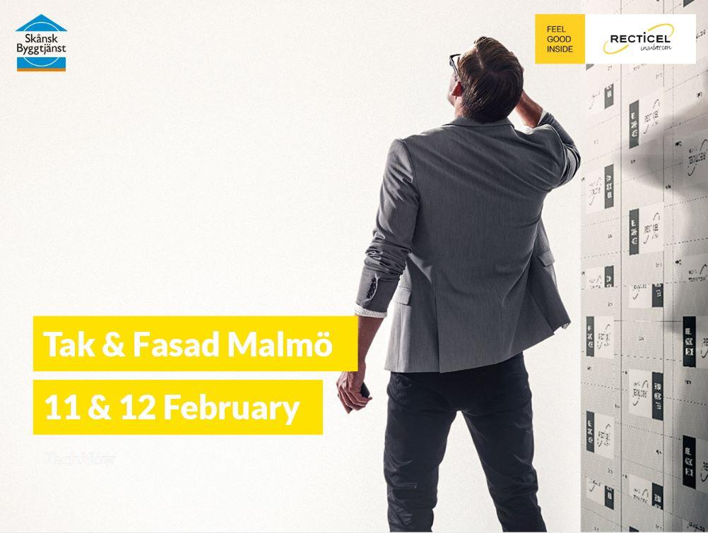 Recticel Insulation kommer att demonstrera sina värmeisoleringslösningar vid Tak & Fasad-evenemanget I
