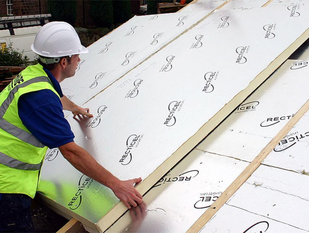 Installation of Eurothane GP insulation boards