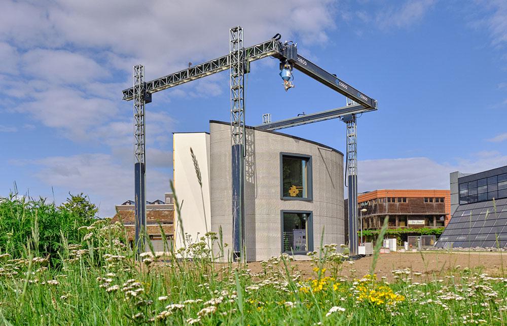 © Kamp C - Recticel Insulation participe à un projet innovant de construction 3D de Kamp C à Westerlo