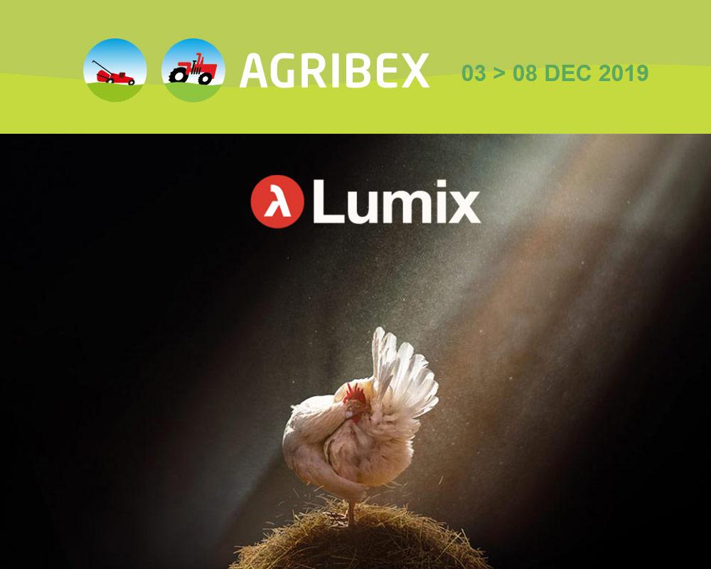 Lumix isolatie voor dierenwelzijn op Agribex 2019