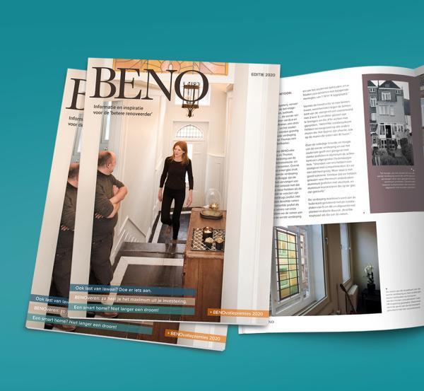 Vlaamse verbouwsector stelt nieuwste editie van het gratis magazine BENO voor