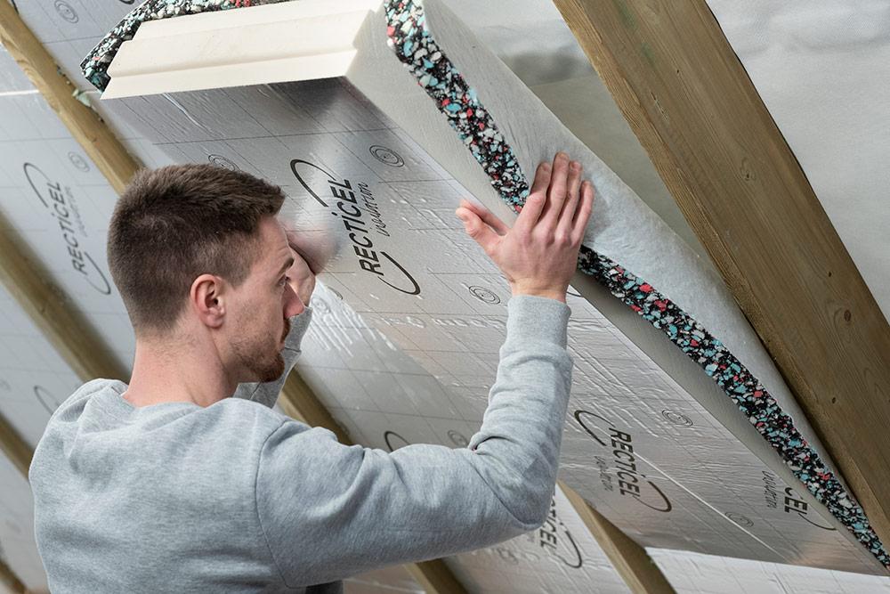 L'expérience Recticel Insulation débute sur Batibouw 2019 avec Comfofix: L'isolation la plus rapide sur le marché