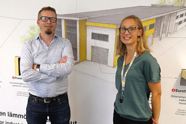 Nimitysuutisia: Taina Korjus ja Toni Tirkkonen Recticel Insulation