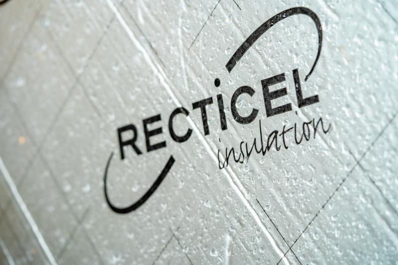 Recticel's PIR-isoleringsskivor har god fuktbeständighet.