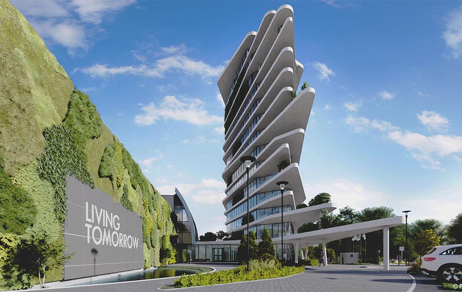 Recticel bouwt aan de Werf van de toekomst met Living Tomorrow