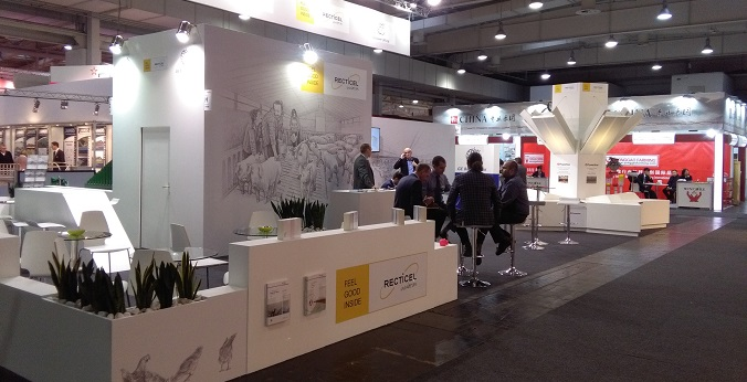 Recticel Insulation's exhibition stand at Eurotier image