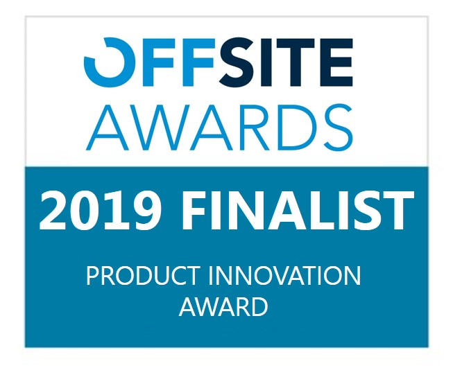 Recticel Insulation finalist in Offsite Awards 2019 logo image