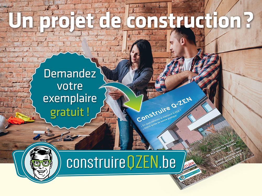 Un projet de construction ? Demandez gratuitement le magazine Construire Q-ZEN !