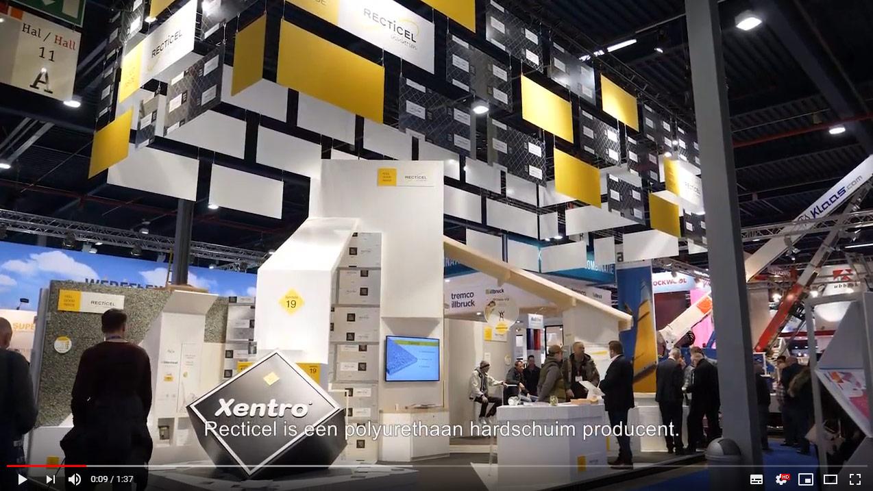 Recticel Insulation toont de laatste isolatie innovaties op de BouwBeurs 2019 (video)