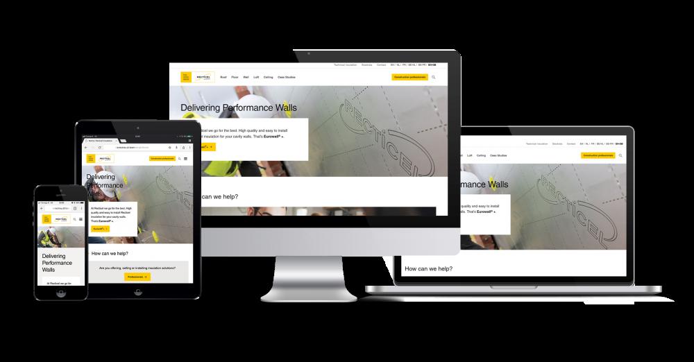 Recticel Insulation new UK website