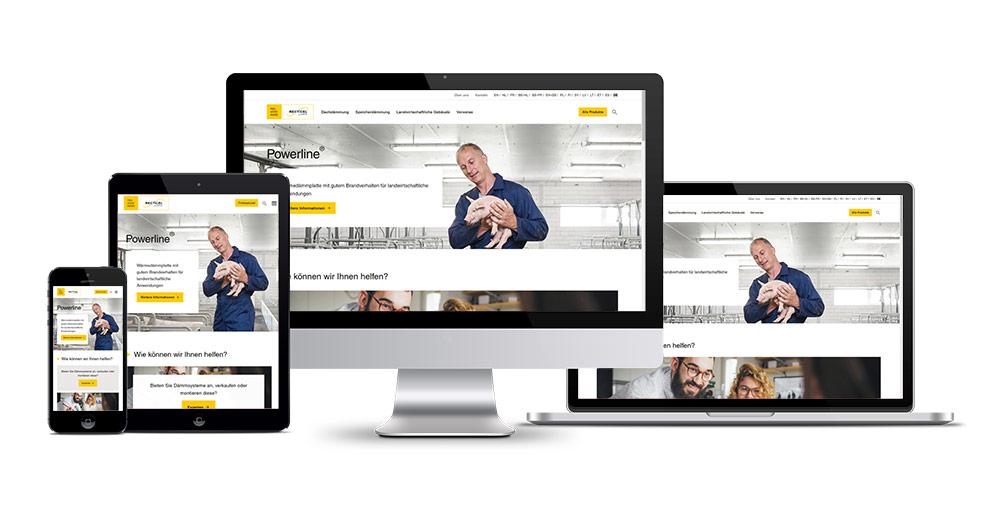 Recticel Dämmsysteme GmbH startet neue Website
