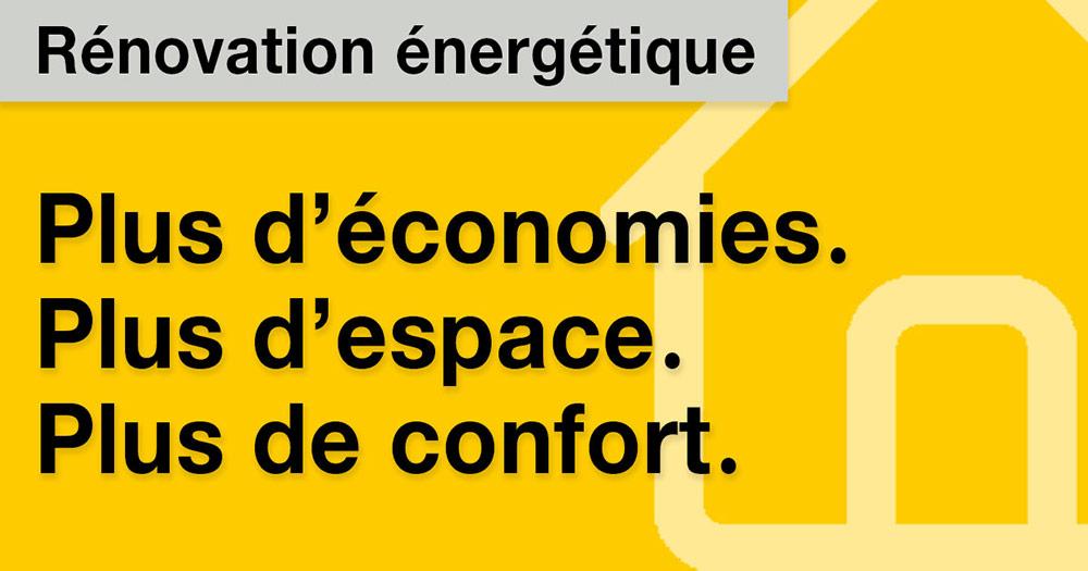 Gagnez presque 1m2 d'espace de vie, pour un appartement de taille moyenne, avec l'isolation Recticel.