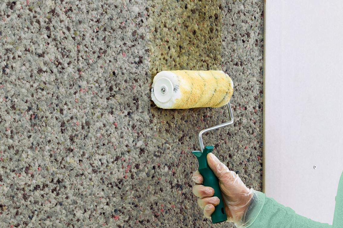 Glue for acoustic insulation panels