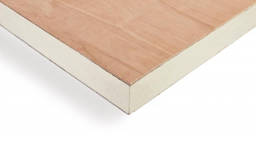 Recticel Insulation Plylok panel corner image