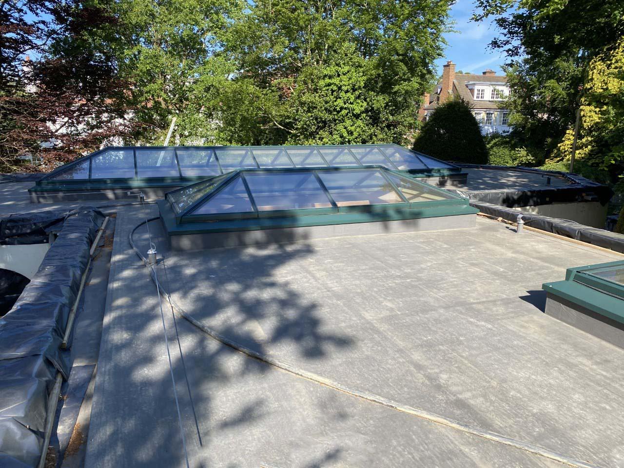 Parkside Gardens flat roof case study