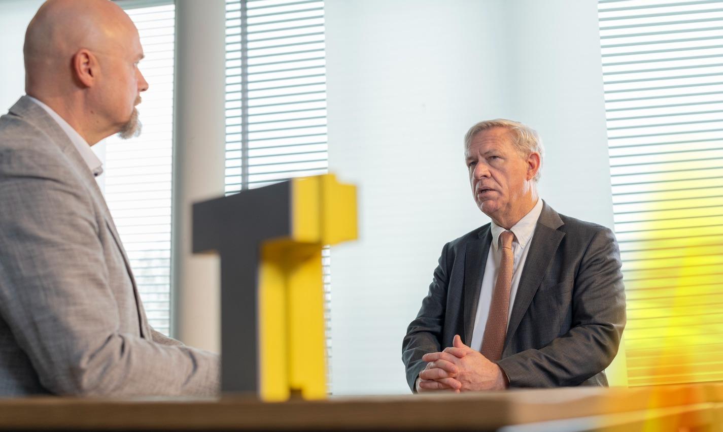 Marc Dillen & Geert Dekyvere in gesprek