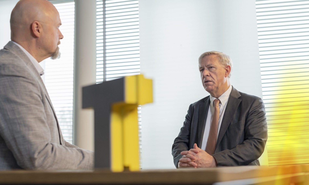 Marc Dillen in gesprek met Geert Dekyvere