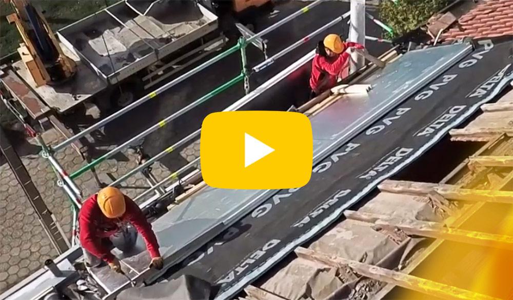 video: Hoe plaats ik een sarkingdak?