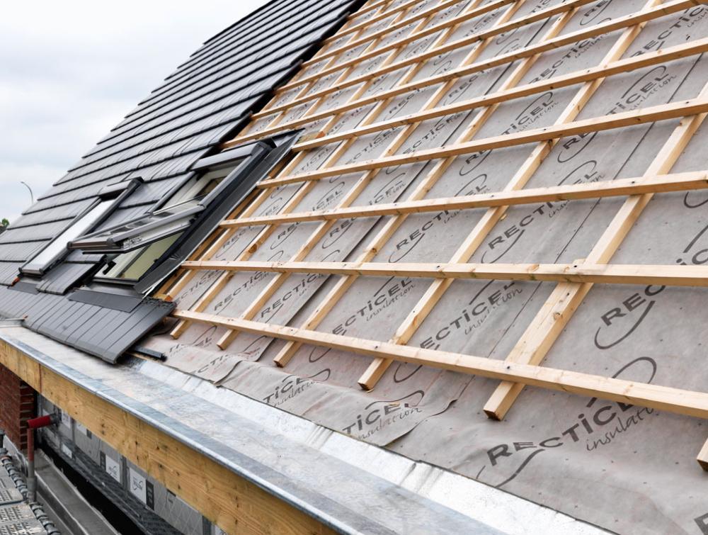 Roof Insulation Recticel