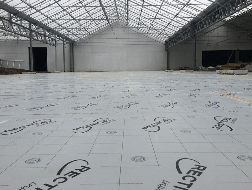 Recticel Insulation Eurowall floor insulation