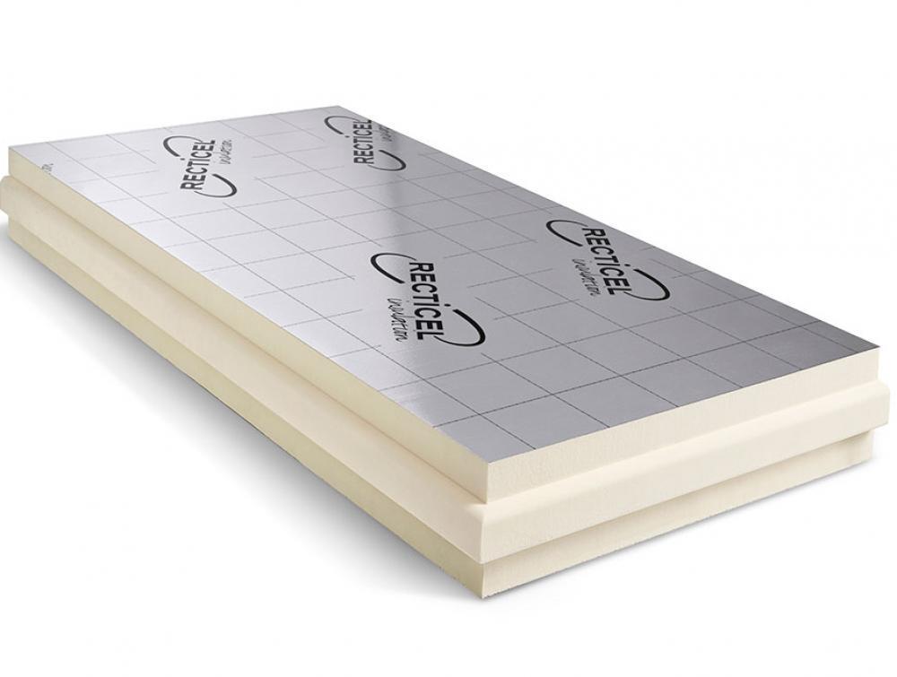 Euroroof paneel: Thermische Sarking PIR isolatieplaat geschikt voor hellende daken