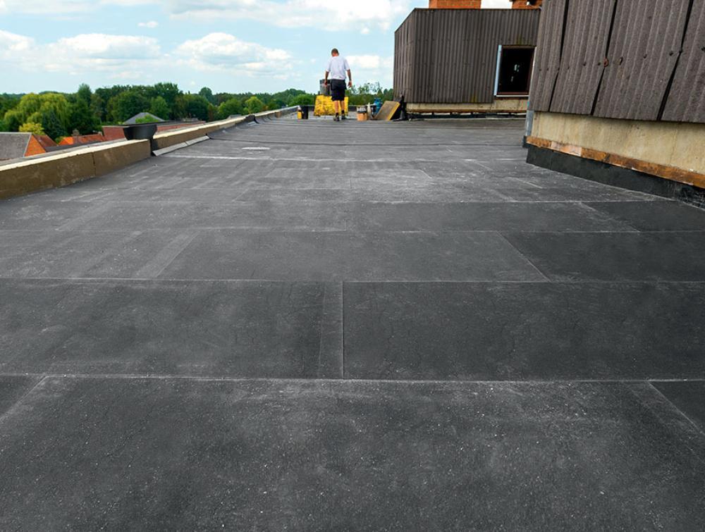 Eurothane Bi-4A isolatieplaten met afschot voor platte daken 1