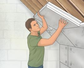 Instafit panel DIY thermal insulation