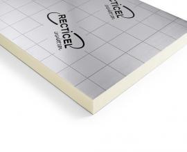 Eurothane Silver panneau d'isolation thermique toits plats chauds